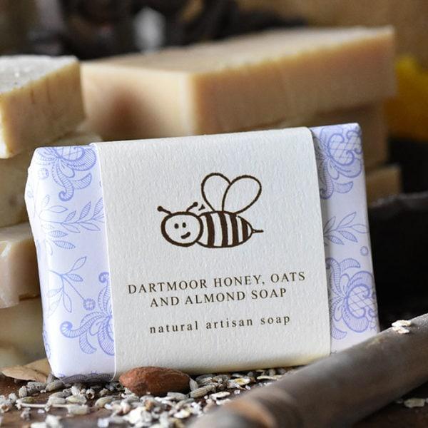 Dartmoor Honey, Oats & Almond Soap