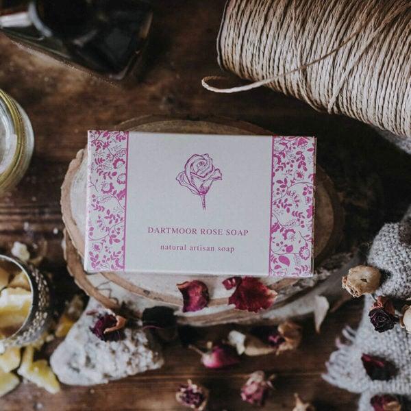 Dartmoor Rose Soap