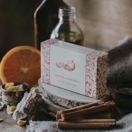 Orange And Cinnamon Soap