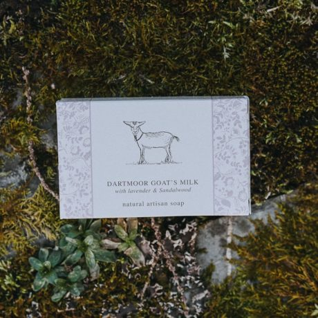 Dartmoor Goats Milk with Lavender and Sandalwood
