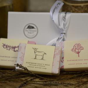 Dartmoor Soap Gift Box of 3
