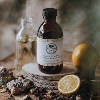 Lemon & Palmarosa Nourishing Bath & Body Oil