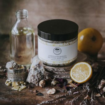 Lemon & Palmarosa Relaxing Bath Salts