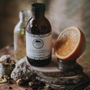Rosemary & Orange Nourishing Bath & Body Oil