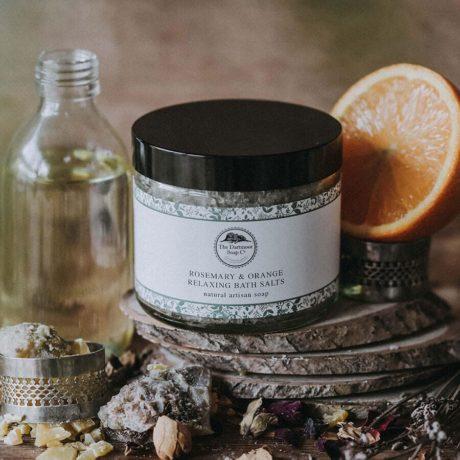 Rosemary & Orange Relaxing Bath Salts