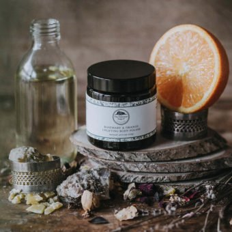 Rosemary & Orange Uplifting Body Polish