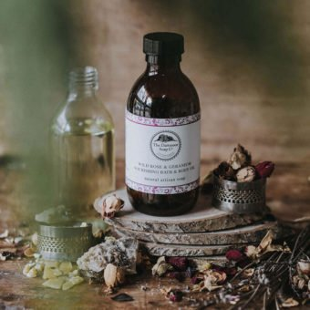 Wild Rose & Geranium Nourishing Bath & Body Oil