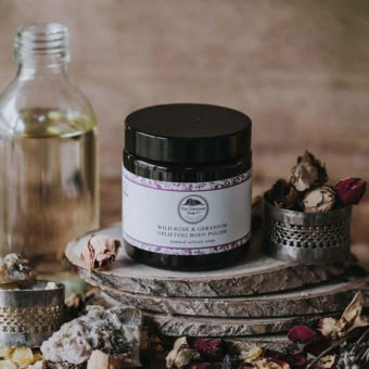 Wild Rose & Geranium Uplifting Body Polish