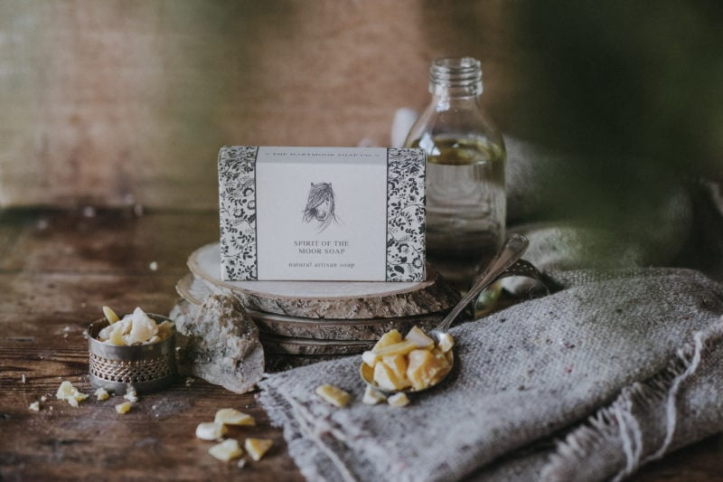 Natural Soaps and Skincare Products from Dartmoor